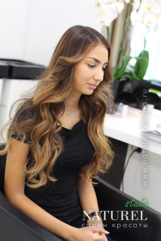 Брондирование на мелированные волосы - b78a