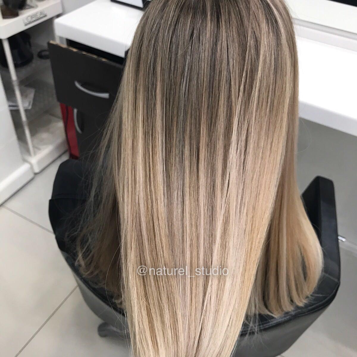 Что такое щадящее мелирование волос на разный цвет волос (с фото и видео)