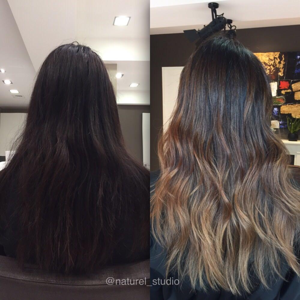 Какой цвет мелирования на темные волосы