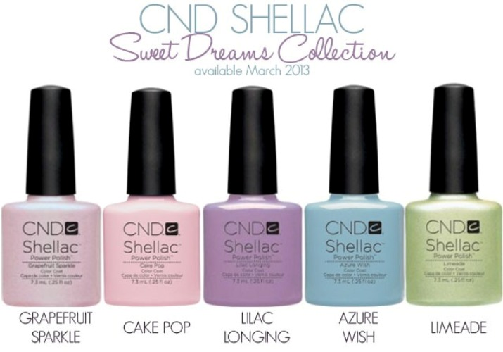 Shellac серии Sweet Dreams Collection